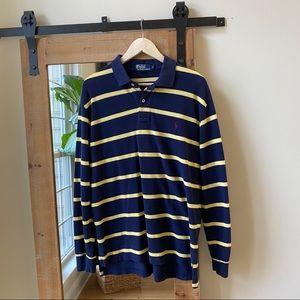 Polo by Ralph Lauren Long Sleeve Striped Polo
